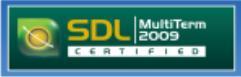SDL Multiterm certification 2009