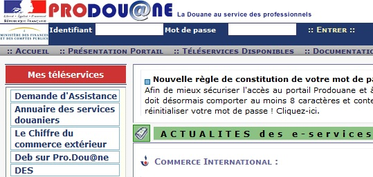 Autoentrepreneur Und Die Zusammenfassende Meldung In Frankreich (la Déclaration Européenne De Services)